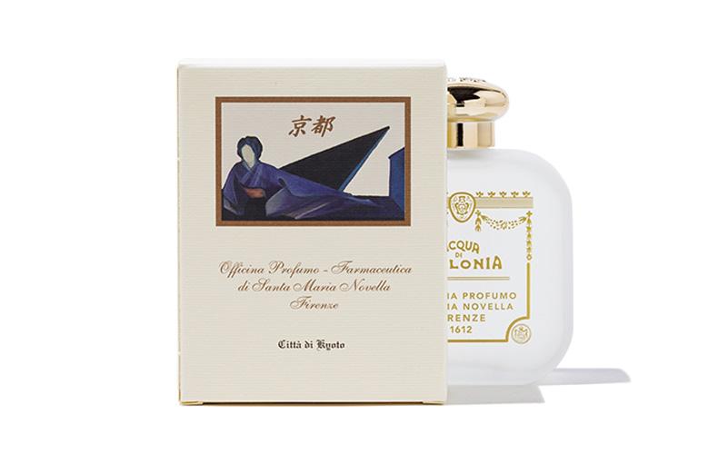 サンタ・マリア・ノヴェッラ 京都フィレンツェ友好記念香水のパッケージ