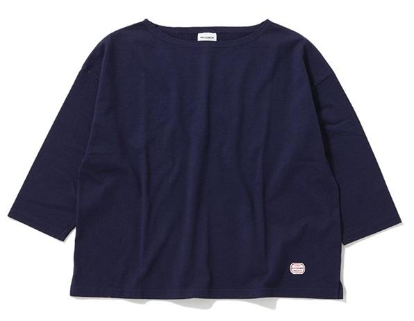 MACOBER | マコバー DYEDドロップショルダー7分袖Tシャツ