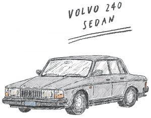 ボルボ セダン 240 VOLVO