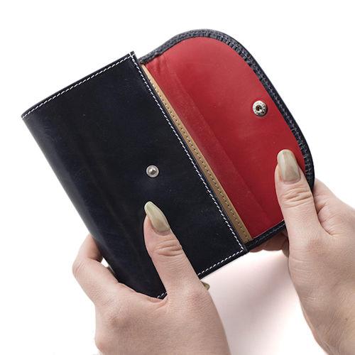 ホワイトハウスコックスの革財布