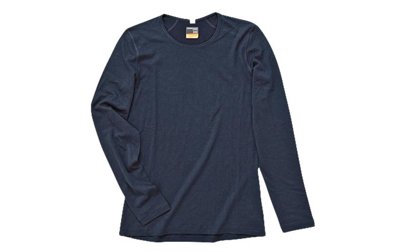 アイスブレーカーのクルーネックTシャツ