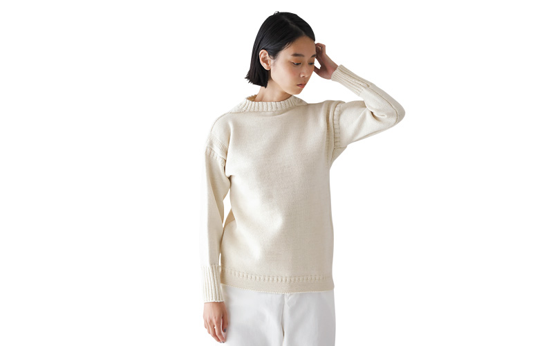 ル トリコチュールのガンジーセーター