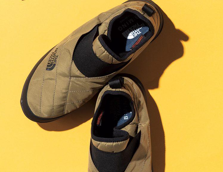 ダウン級にあったかい靴あります。ザ・ノース・フェイス