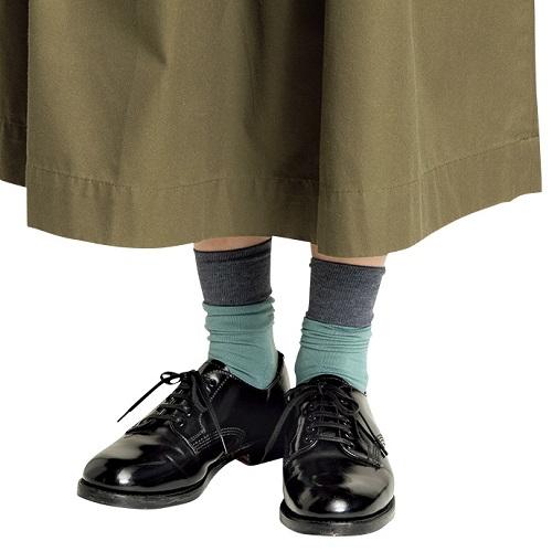 靴下のおしゃれ 2トーンソックス