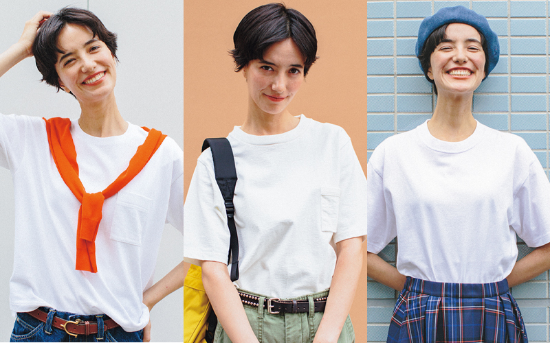 """Tシャツ選びは""""首""""を見る"""
