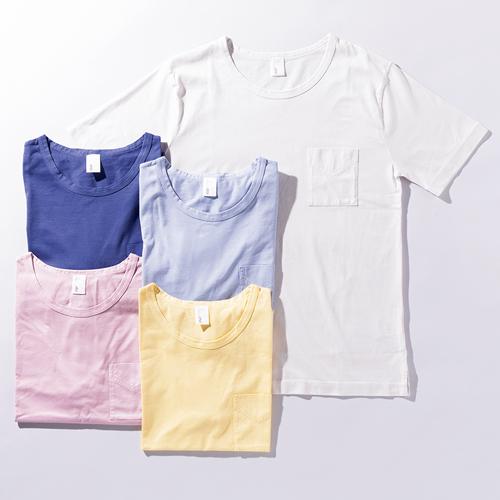 イイトのピュアブリーズポケット付Tシャツ