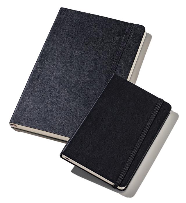 モレスキンのノート(ソフト&ハード)