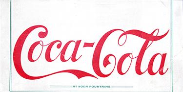 Coca-Cola コカ·コーラのロゴ