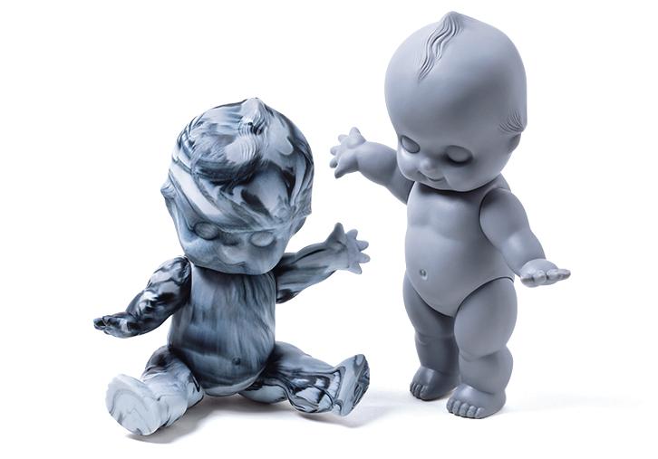 オビツ製作所のキューピー人形