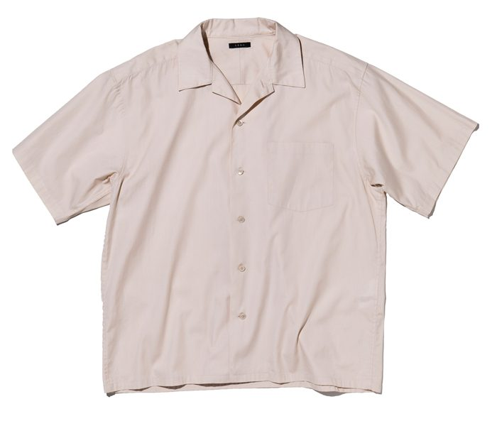 リノのオープンカラーシャツ