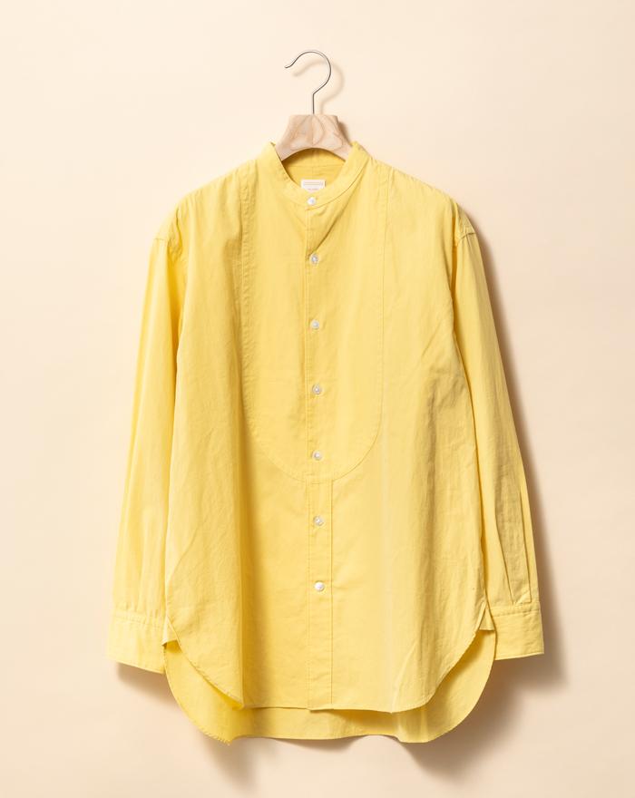 フランネルソルのイブニングシャツ