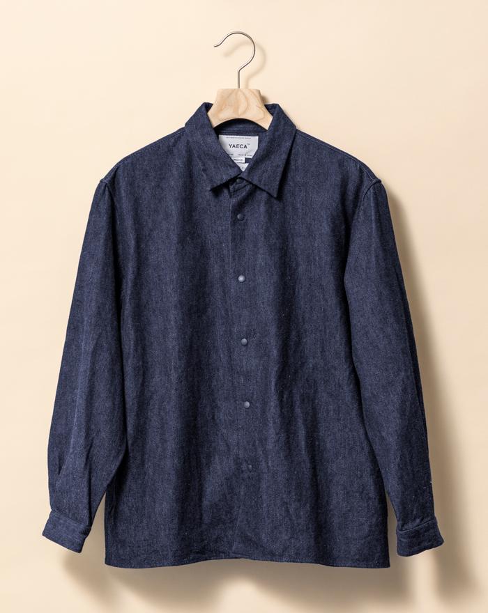 ヤエカのデニムシャツ